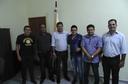 Em visita à Guaraí, Deputado César Halun foi recebido pelo Presidente e Vereadores na sede da Câmara Municipal de Guaraí-TO.