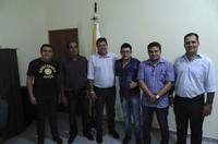 Câmara Recebe visita do Deputado Federal César Halun