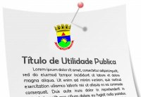 Declaração de Utilidade Pública