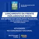 """Vereadores de Guaraí, participarão de mais uma """"Marcha de vereadores"""" em Brasilia, com intuito  de buscar conhecimentos e aprimoramento em Gestão Legislativa."""