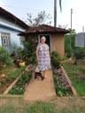 Lourdes Zanco 69 anos, pioneira de Guaraí