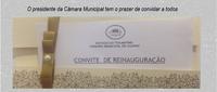 Reinauguração da Câmara Municipal de Guaraí
