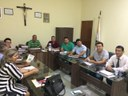 Atendendo convite da Câmara, o Secretário de Administração, Planejamento e Finanças,  do município de Guaraí-TO, Anderson Moreira, reuniu-se com a maioria dos vereadores para deliberarem alguns assuntos em pauta.