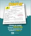 CONFORME DECRETO LEGISLATIVO  APROVADO EM PLENÁRIA DE 27/04/2020, CÂMARA MUNICIPAL  EFETIVA A TRANSFERÊNCIA DE 50.000(MIL) DO SEU ORÇAMENTO, AOS COFRES DO MUNICÍPIO PARA SEREM UTILIZADOS EXCLUSIVAMENTE NO COMBATE AO COVID-19