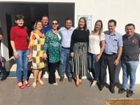 Vereadores participam da entrega de academia no Jardim Brasília